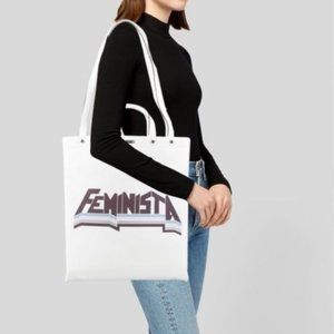 Rebecca Minkoff Feminista Magazine Leather Tote